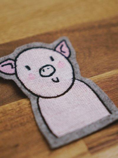 Stickdatei Schwein