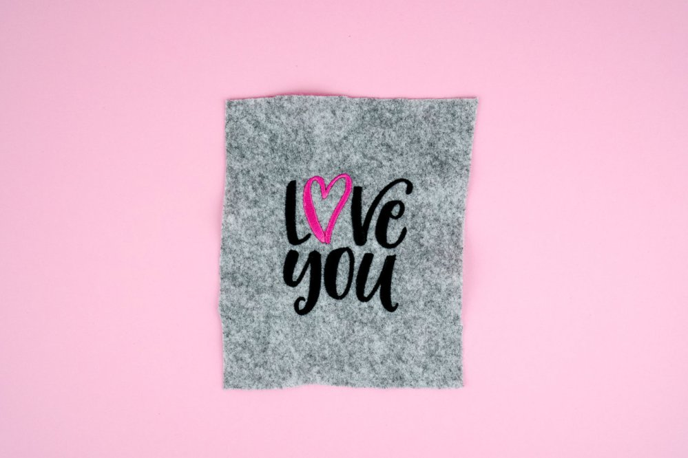Stickdatei Love You