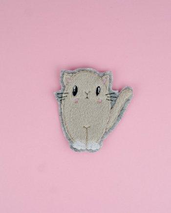 Stickdatei Katze Applikation (Fluffie)
