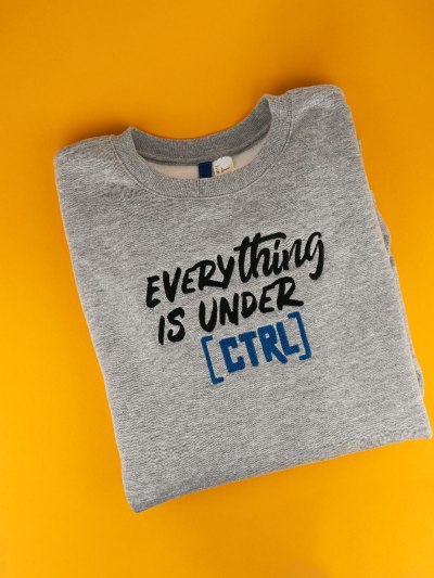 Stickdatei Computer Nerd »Everything is under CTRL«