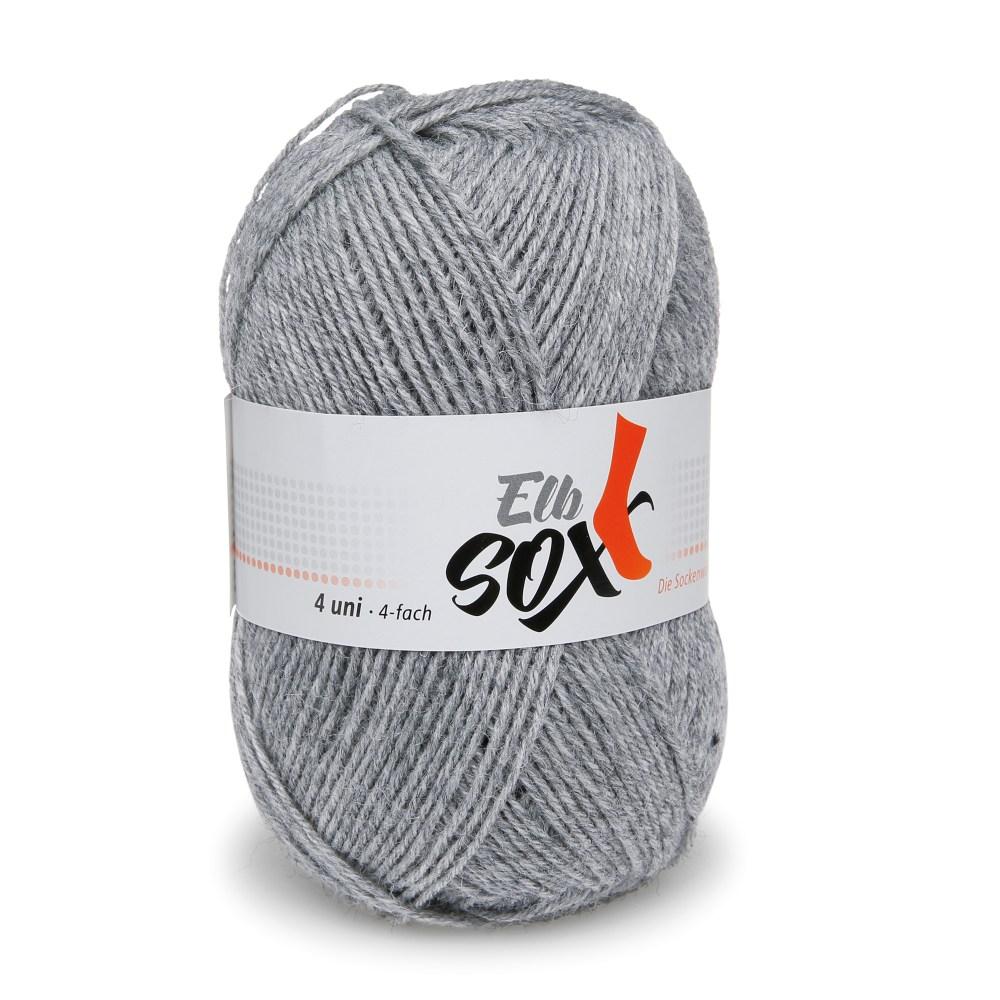 ElbSox - 4 Uni (Sockenwolle von ggh)