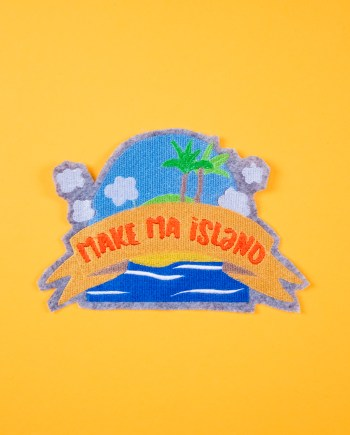 Stickdatei Insel »Make Ma! Island«