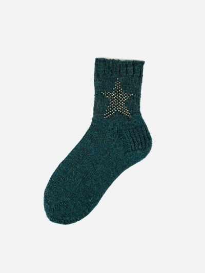 Strickanleitung zu den »Out of this World« Stricksocken Modell »Flora«