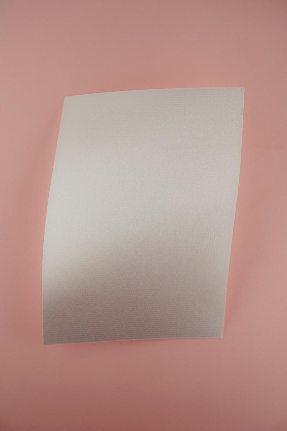 flashy Patchbasis sticken weiß