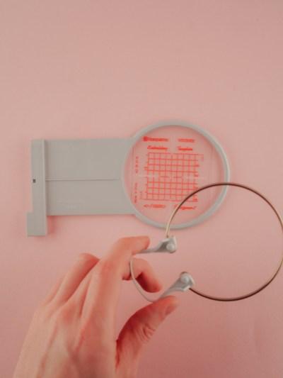 Stickrahmen 40 mm für kleine Stickereien