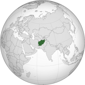Афганистан карты