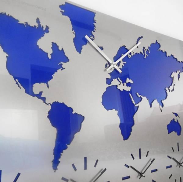 карта часовых поясов 5