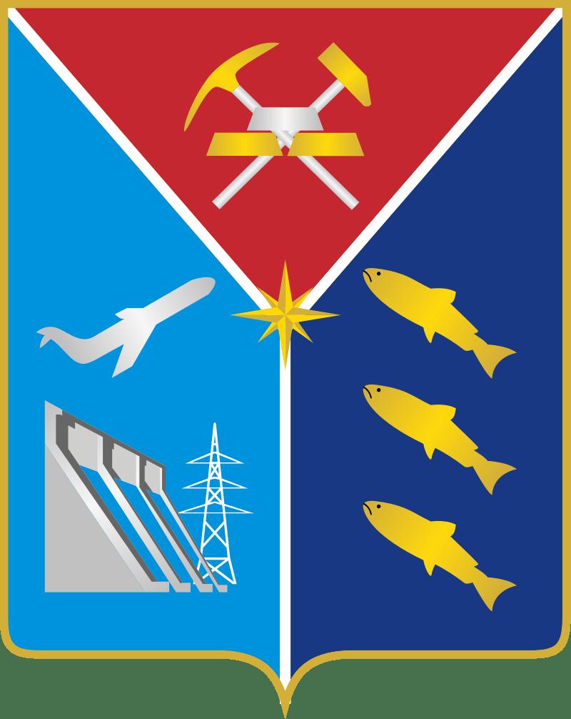 Магаданская область герб карты