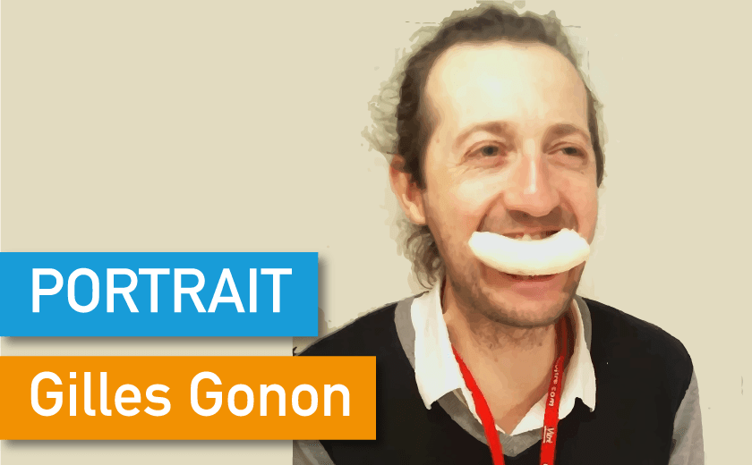 Portrait de Makers #34 > Gilles Gonon