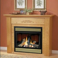 FIREPLACE GAS STOVE VENTLESS  Fireplaces