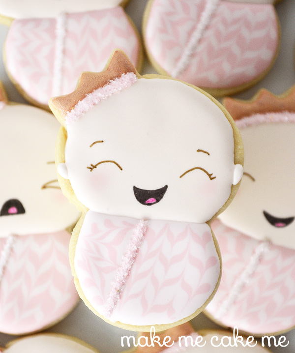 PrincessBabyShowerCookies
