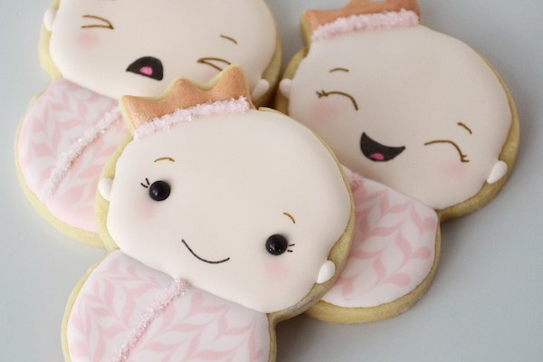 Little Princess Cookies: Virtual Baby Shower for Sugarbelle & LilaLoa