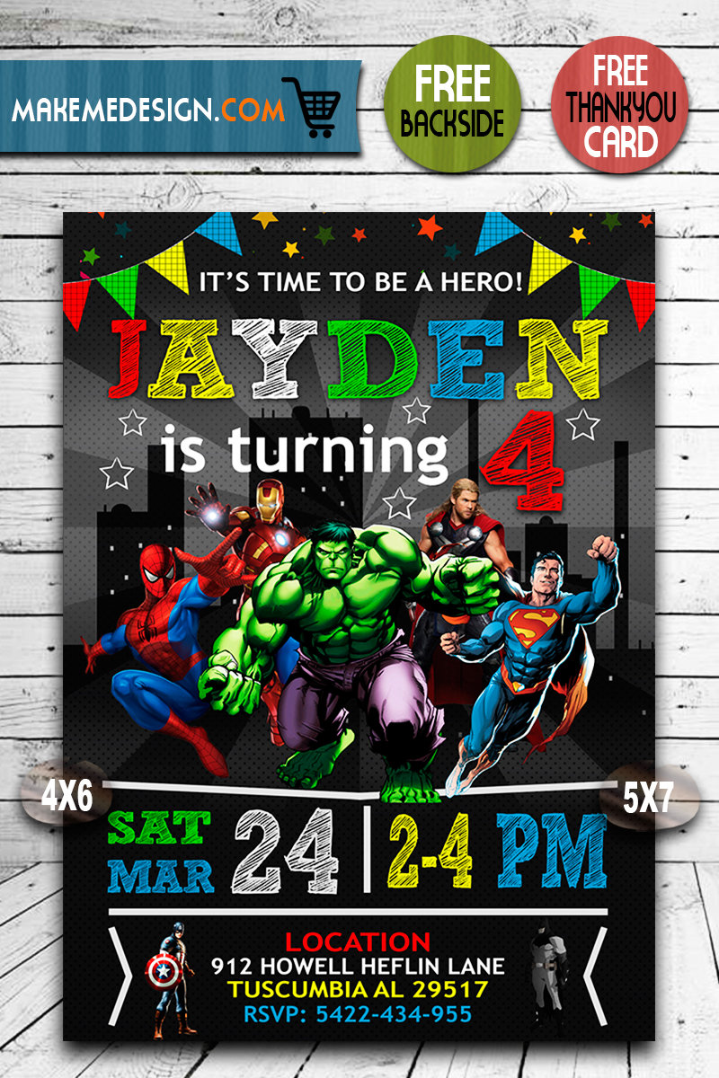 avengers birthday invitations superhero invitation avengers invite superhero invite avengers birthday party avengers printable avenger card diy