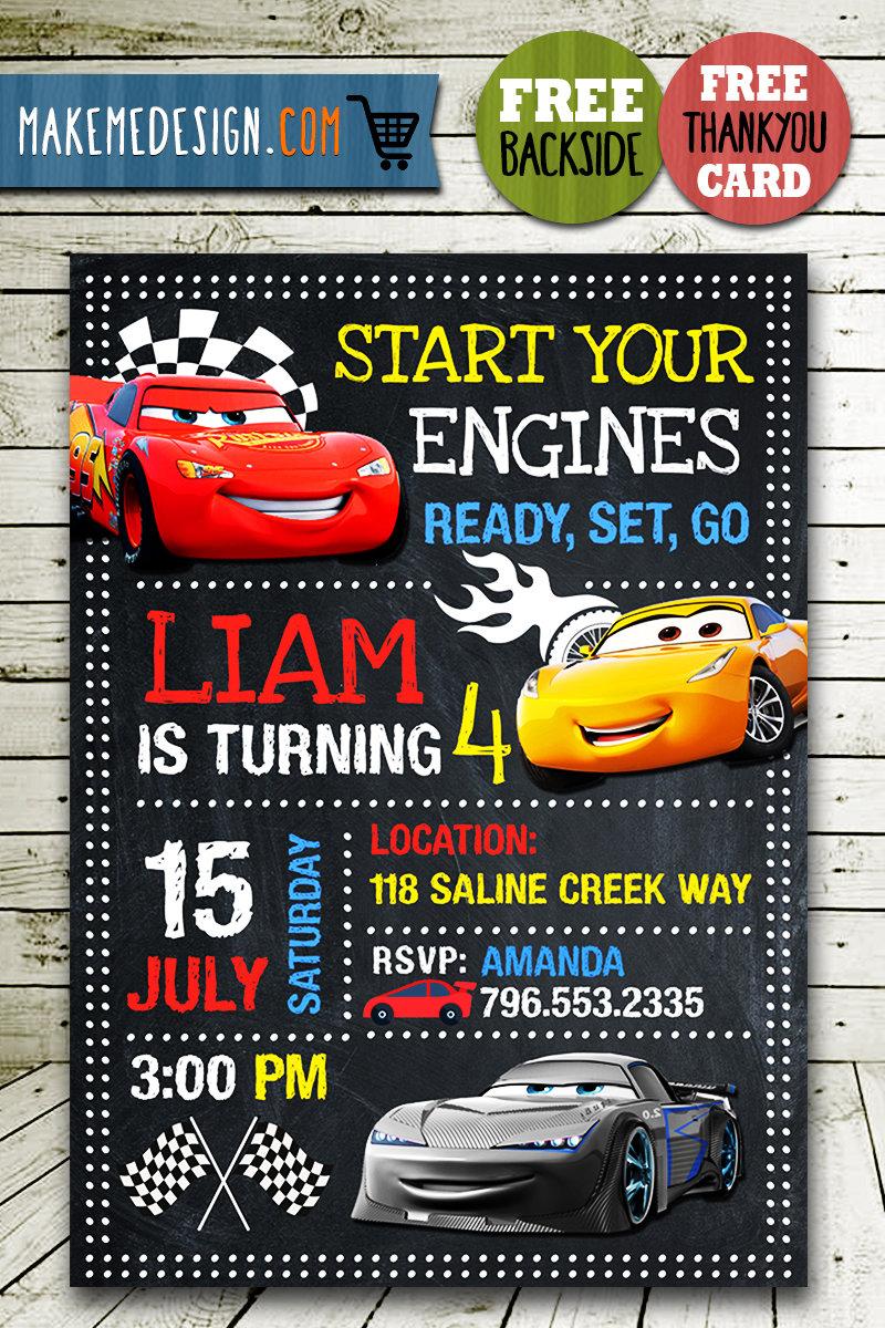 disney cars invitations printables disney cars invite cars 3 disney cars birthday party disney cars printable diy