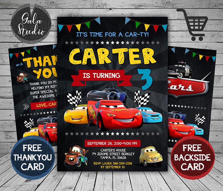 disney cars invitation card disney cars invite cars 3 disney cars birthday party disney cars printable diy