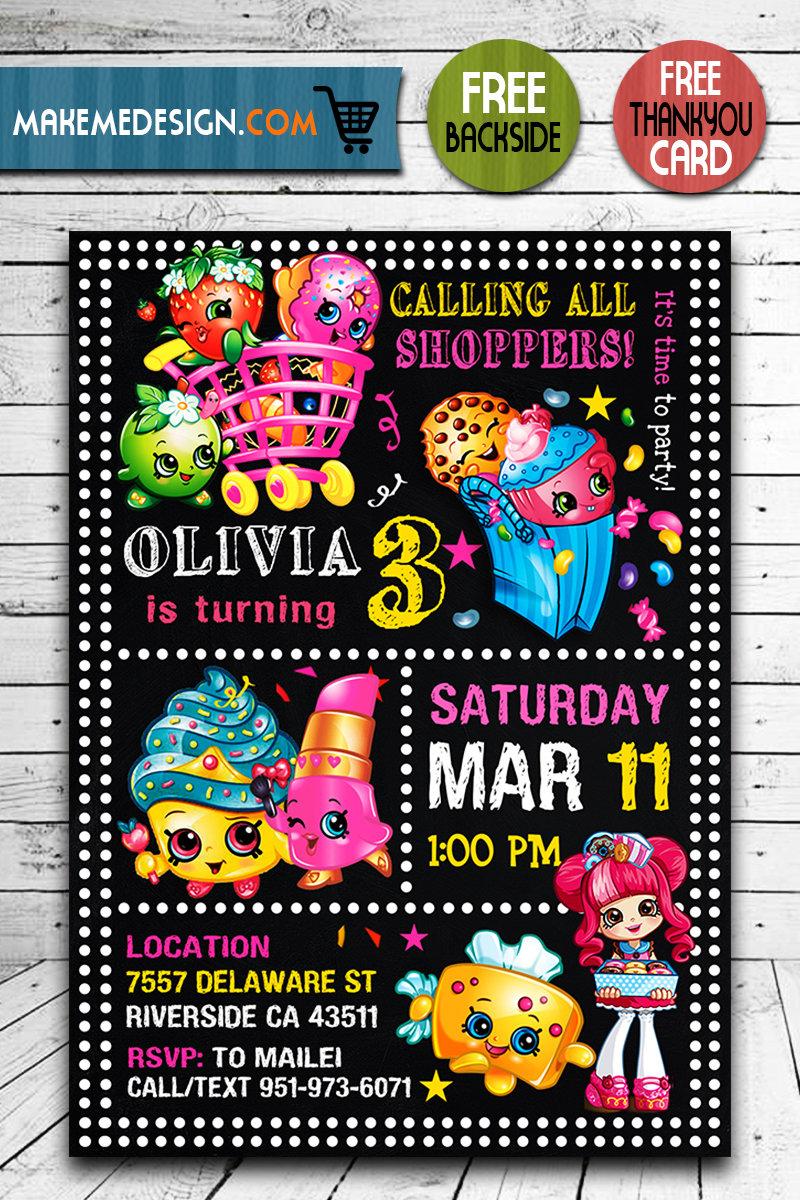 shopkins birthday invites shopkins invite shopkins birthday party shopkins printable shopkins card diy