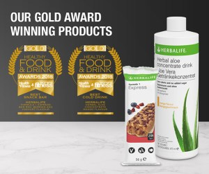 Herbalife wins 2 Gold Awards - click here for info