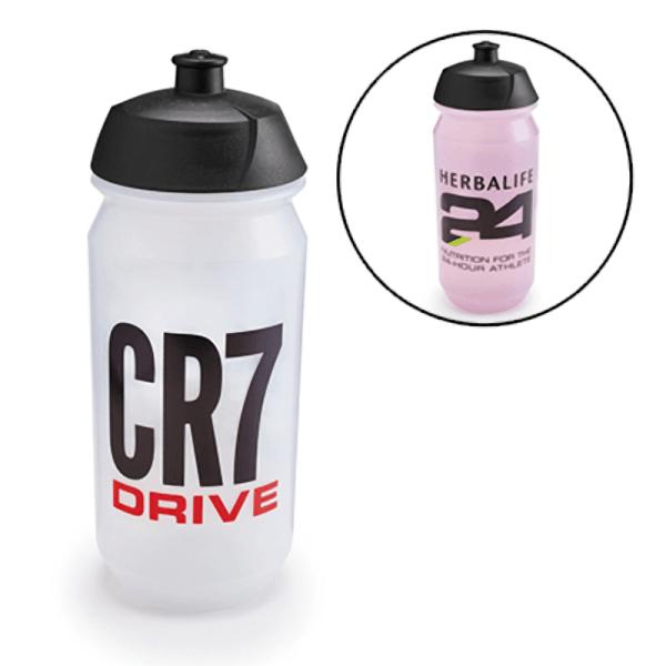 CR7 Drive sport water bottle – Transparent -550 mL