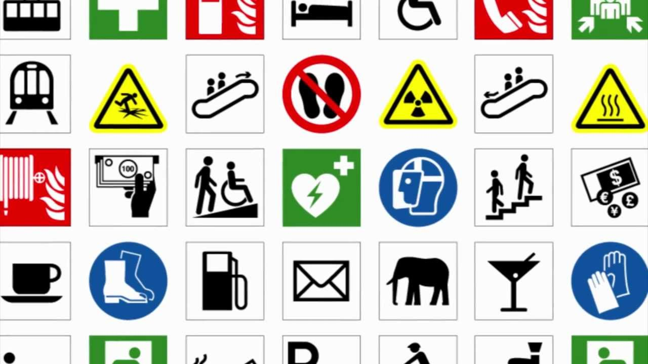 ISO Symbols for Safety Signs and Labels  MakeMeLaughscom