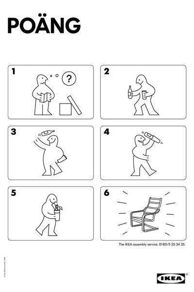 Makememinimal  Billy y el servicio de montaje de Ikea