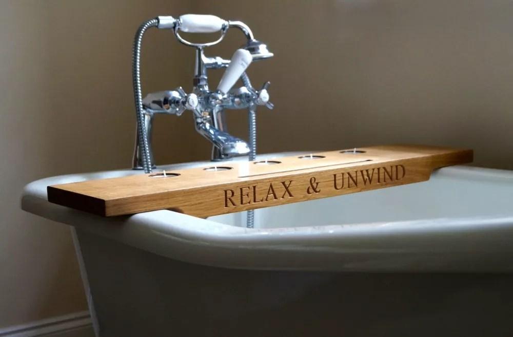 Wooden Bath Tray  MakeMeSomethingSpecialcom