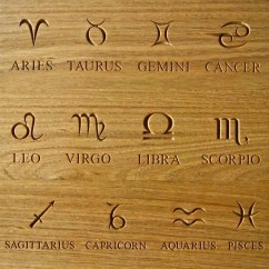 Childrens Toy Kitchen Walmart Rugs Carved Symbols & Zodiac Star Signs ...