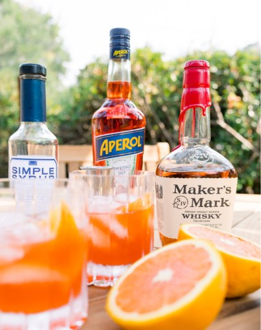Make a Bourbon Spritz Cocktail
