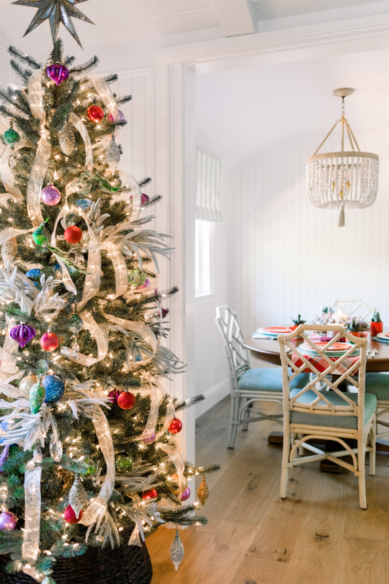 Christmas Tree and Dining Table