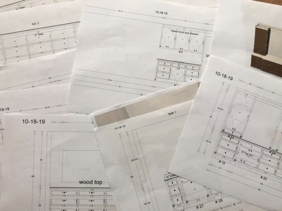 Cabinet Drawings