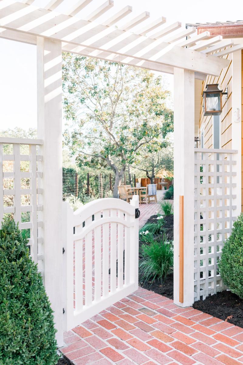 Garden Arbor and Gate