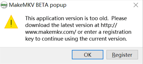 MakeMKV Key Updation