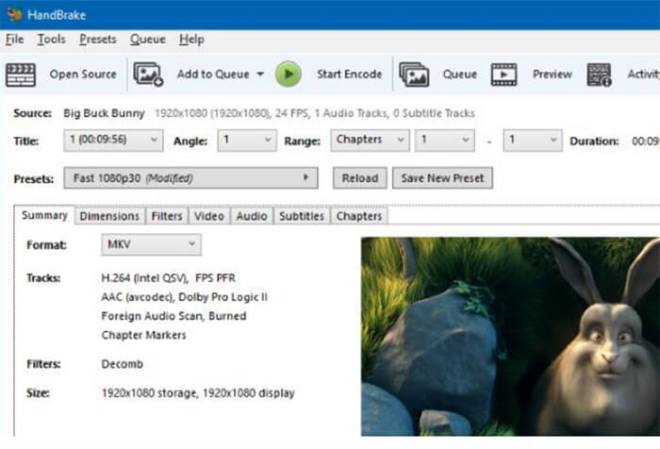 How to rip DVDs with HandBrake