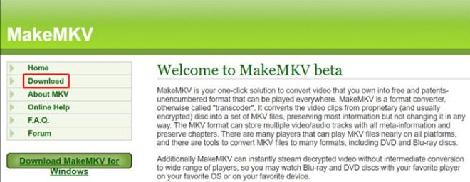 Download MakeMKV on Linux