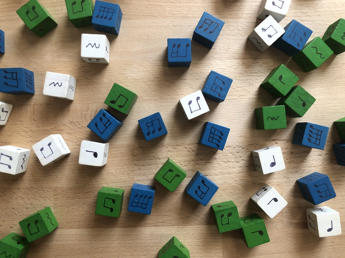 hight resolution of Rhythm Dice for the Music Room - Make Moments Matter