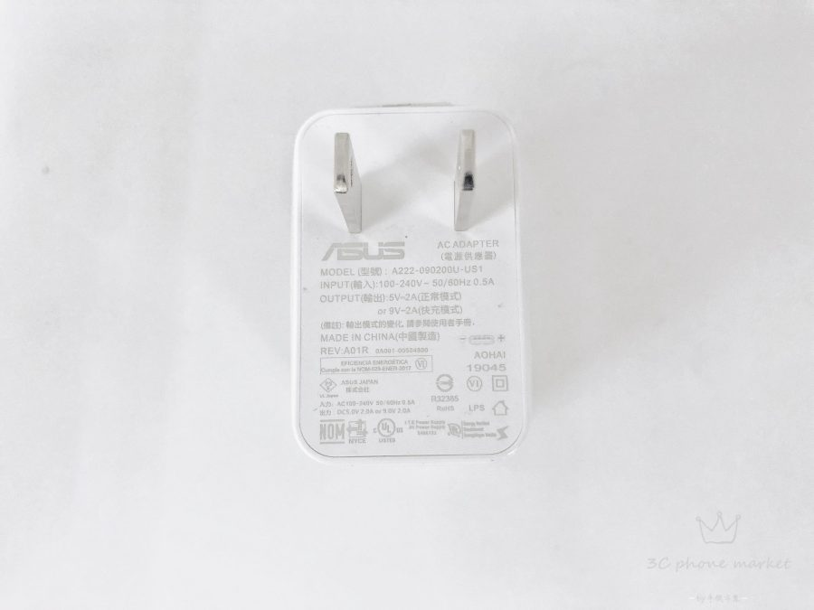 ASUS ZENFONE 6 原廠充電頭