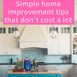 Real Estate Simple Home Improvement Tips That Dont Cost A Lot Make Money Your Way