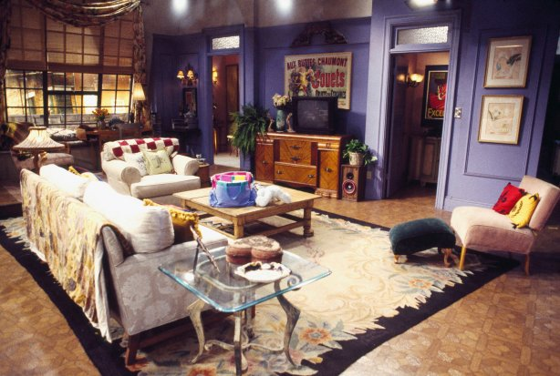 "FRIENDS -- Pictured: Set of Monica Geller's apartment in ""Friends"" (Photo by Gary Null/NBC/NBCU Photo Bank via Getty Images)"
