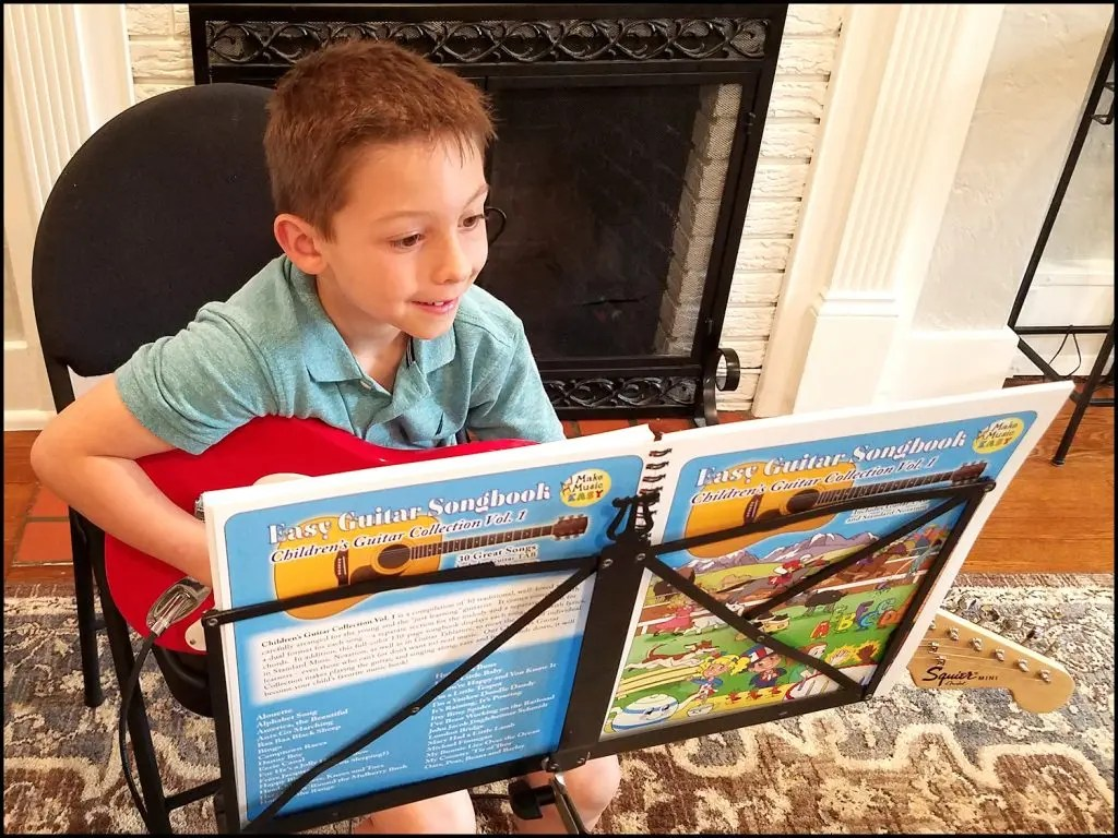 Guitar & Ukulele Songbooks with Melody & Chords pages.