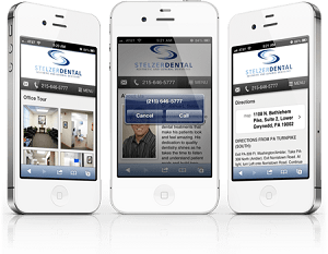 We Design Mobile Websites