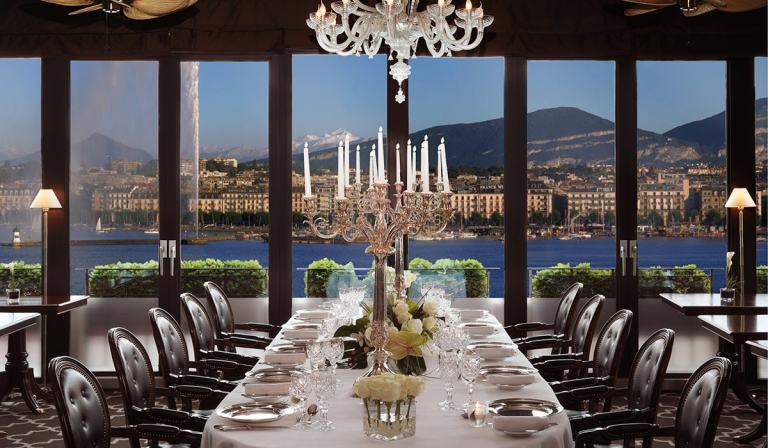 Hôtel d'Angleterre Genève, Restaurant