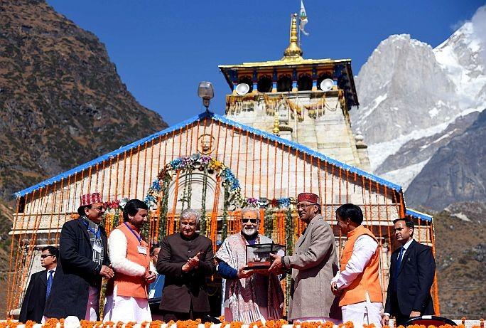 pm-modi-addresses-a-public-meeting-in-kedarnath-uttarakhand