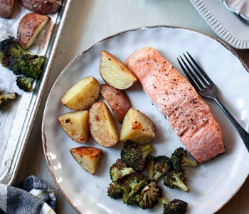 Salmon Sheet Pan