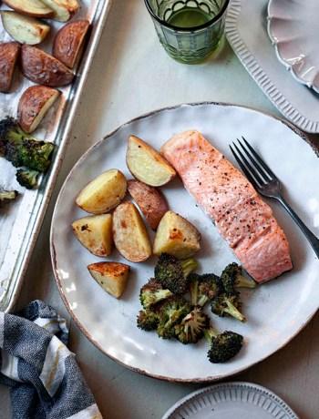 Salmon Sheet Pan