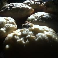 Cranberry Muffins with Lemon-Ginger Glaze