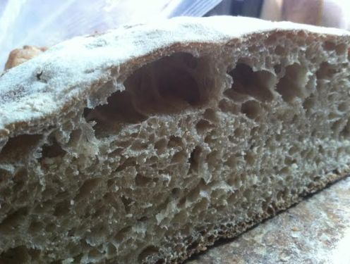 tartine bread crumb