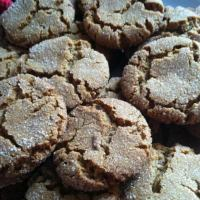 Great Grandma Moog's Gingersnap Cookies