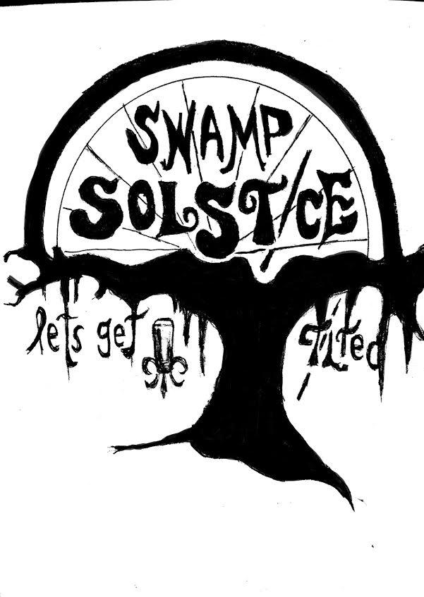 Swamp Solstice and Black Bean Shiitake Burgers for Summer