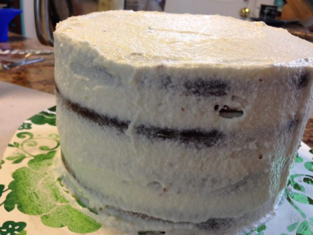 Crumb Coat Recipe For Fondant Cake