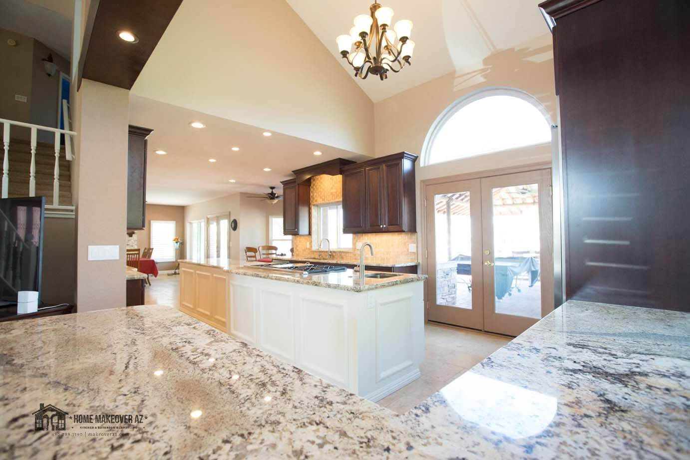 3 Open Concept Before And After Kitchen Remodels To Make You Drool Home Makeover Creations