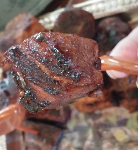 Super Bowl Oven Sweet-n-Smoky Rib Bites